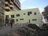 Az épület építése